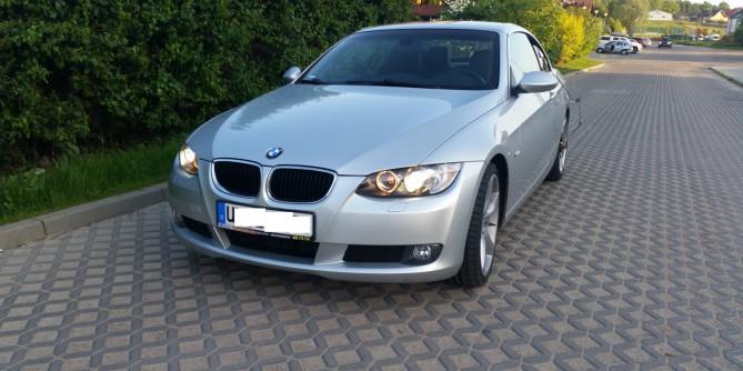 BMW E93 2.0d 177km Chiptuning  + wyłączenie egr